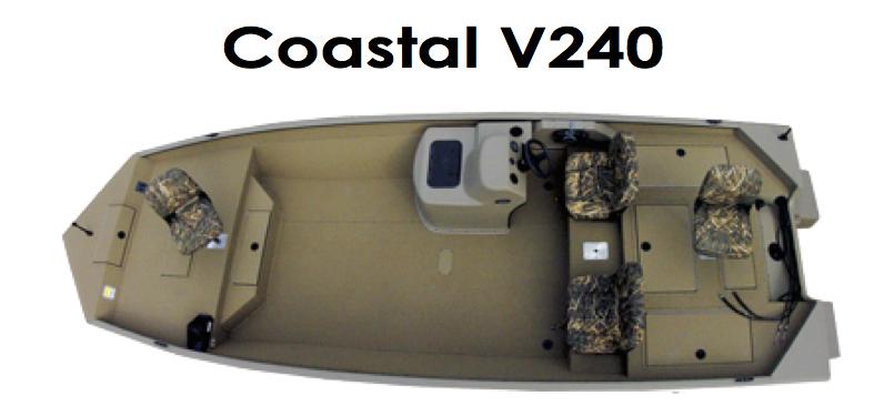 SeaArk coastal V240