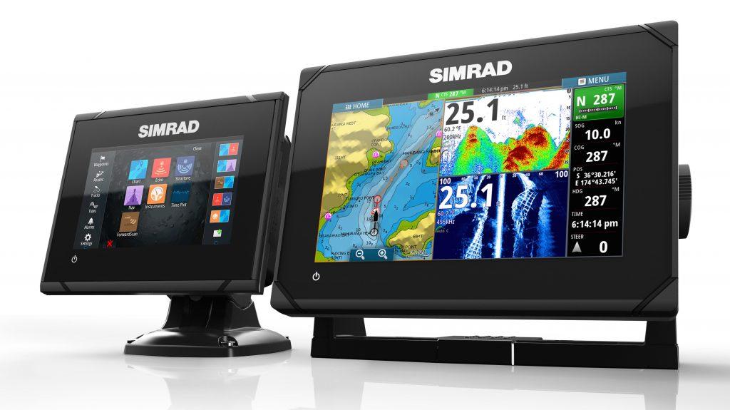 Simrad gps navigation