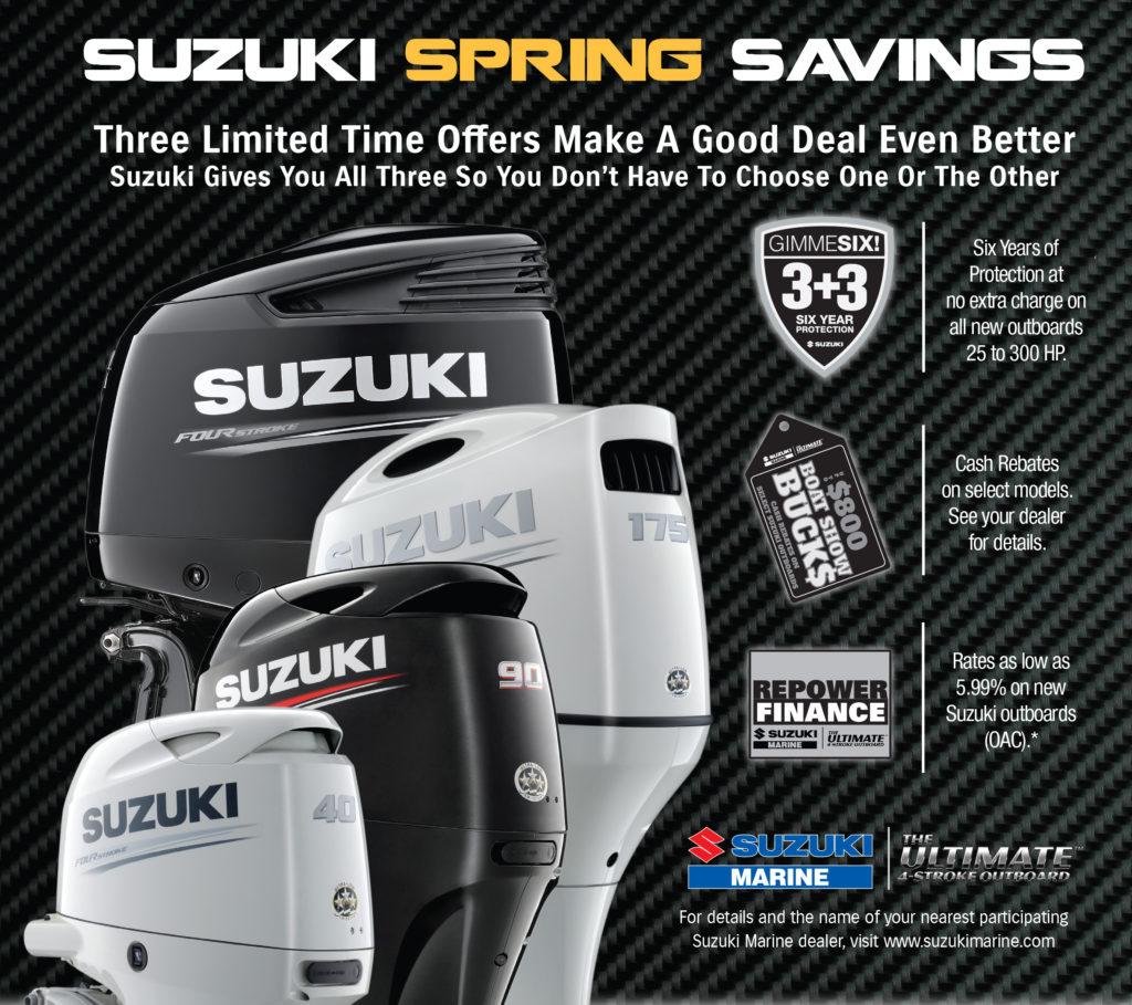 Suzuki Spring Repower Sales Event 2017 - Talon Marine Services