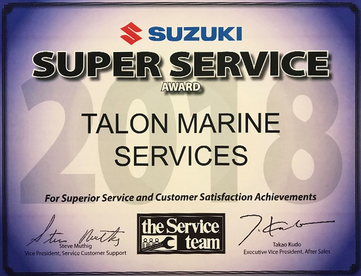 Limited Edition Matte Black Suzuki DF300 | Talon Marine
